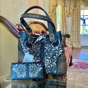 Montana west conceal carry handbag&wallet&sunglass